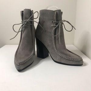 New Sol Sana Dillion Grey Lace Up Boots